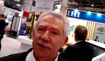 INDUCTOTHERM: Diretor apresenta o stand da empresa na THERMPROCESS