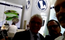 Alberto Gomez representante da empresa Lohmann da Alemanha