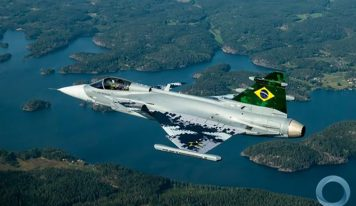Primeiro Gripen E Brasileiro Completa seu Primeiro Voo