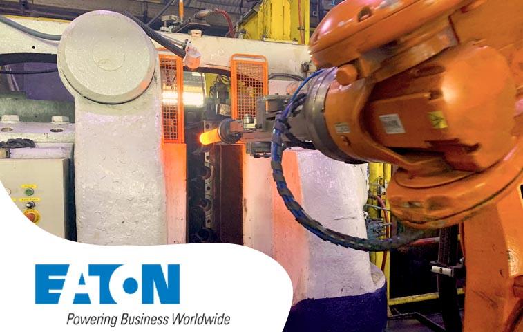 Eaton avança na automação da forjaria