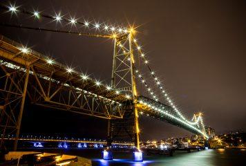 Revestimento de aço da ponte Hercílio Luz pode durar até 25 anos