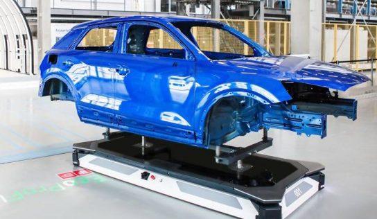 Linhas de pintura do futuro: Dürr revoluciona o layout automotivo