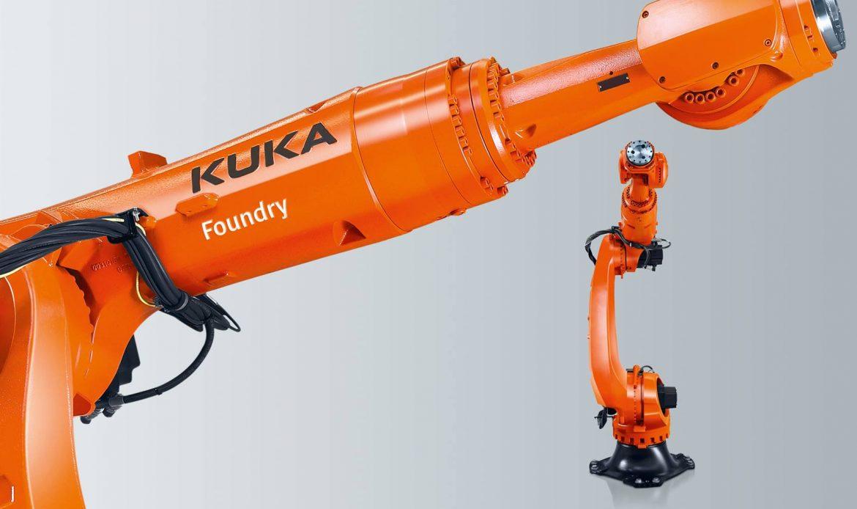 Kuka apresenta novos robôs de fundição projetados para abientes quentes