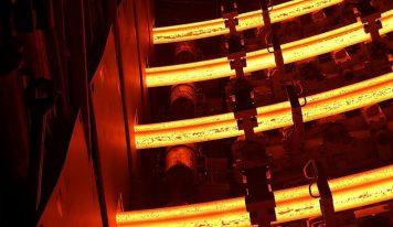 Produtor de aço Saarstahl AG instala lingotador continuo de 5 veios
