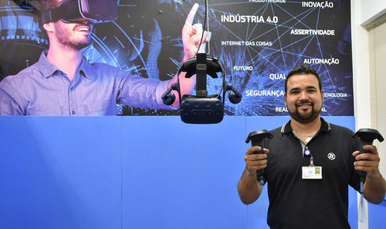 ZF em parceria com a FACENS desenvolve projeto de realidade virtual