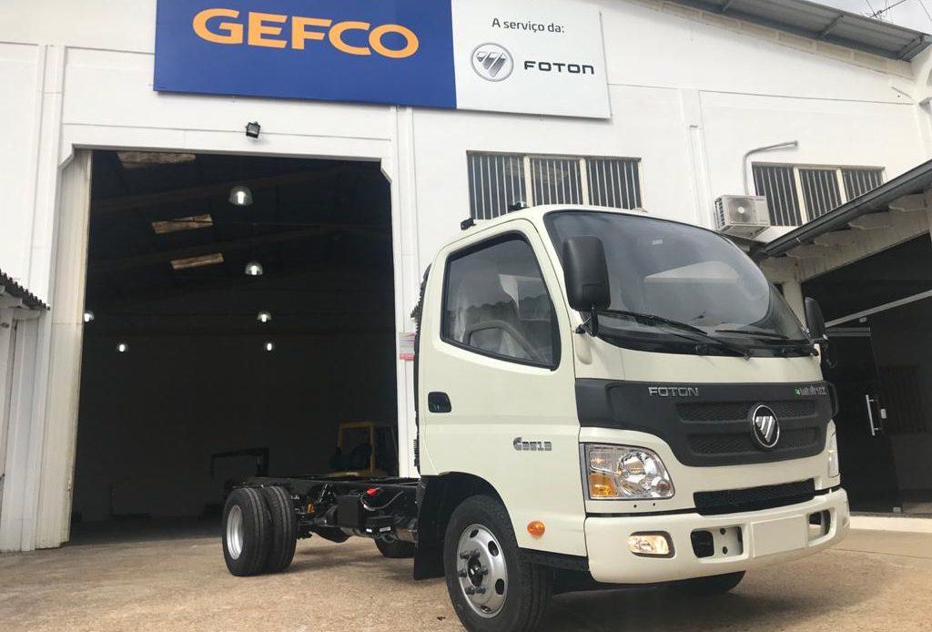 Foton inicia produção de caminhões em Guaíba