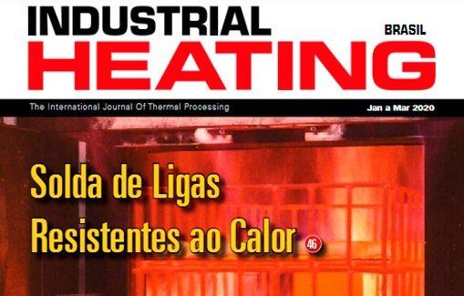 Confira a nova edição de março da revista Industrial Heating