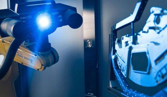 Scanner 3D flexível para medição rápida e precisa
