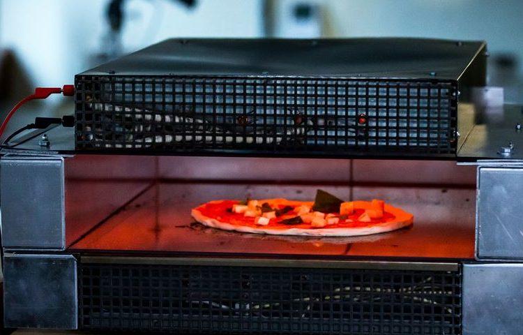 Pizza mais rápida do mundo com tecnologia de aquecimento Kanthal