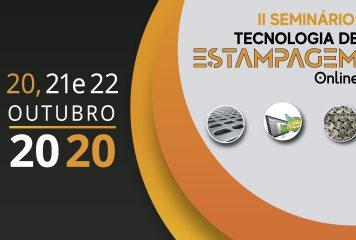 II Seminário Estampagem de Chapas Metálicas On-line – Save the Date