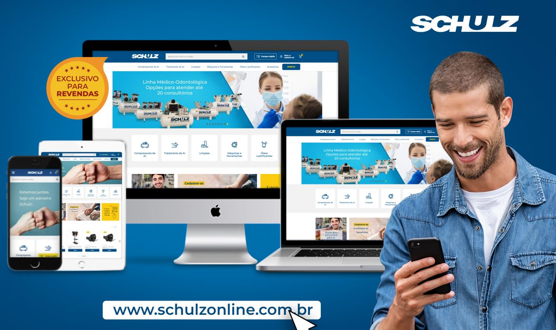 Compressores Schulz lança Portal para Revenda de Máquinas