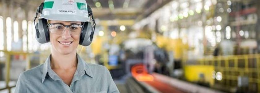 ArcelorMittal Brasil tem primeira mulher diretora de unidade industrial