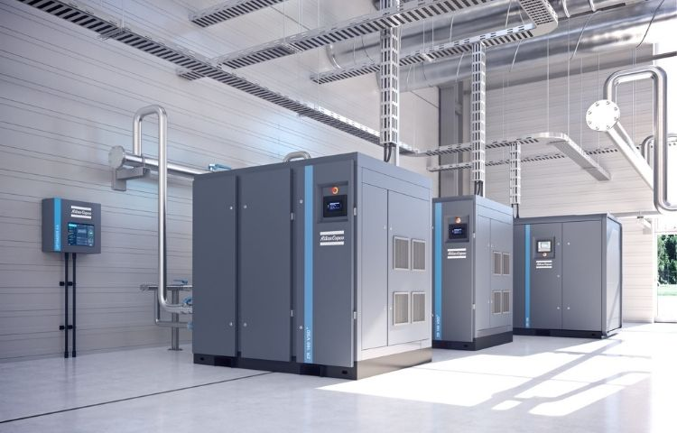 Atlas Copco apresenta novo compressor de parafuso isento de óleo