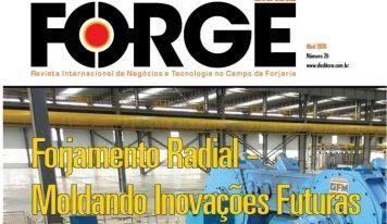Edição de Abril da revista Forge já está disponível