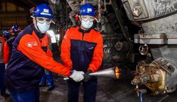 ArcelorMittal Tubarão religa seu terceiro Alto-Forno