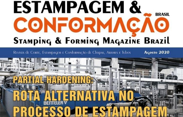 Edição de Agosto da revista Estampagem já está disponível