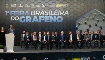 Inaugurada 1ª Feira Brasileira do Grafeno